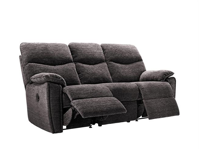 G Plan   Henley Fabric 3 Seater Manual Double Recliner Sofa